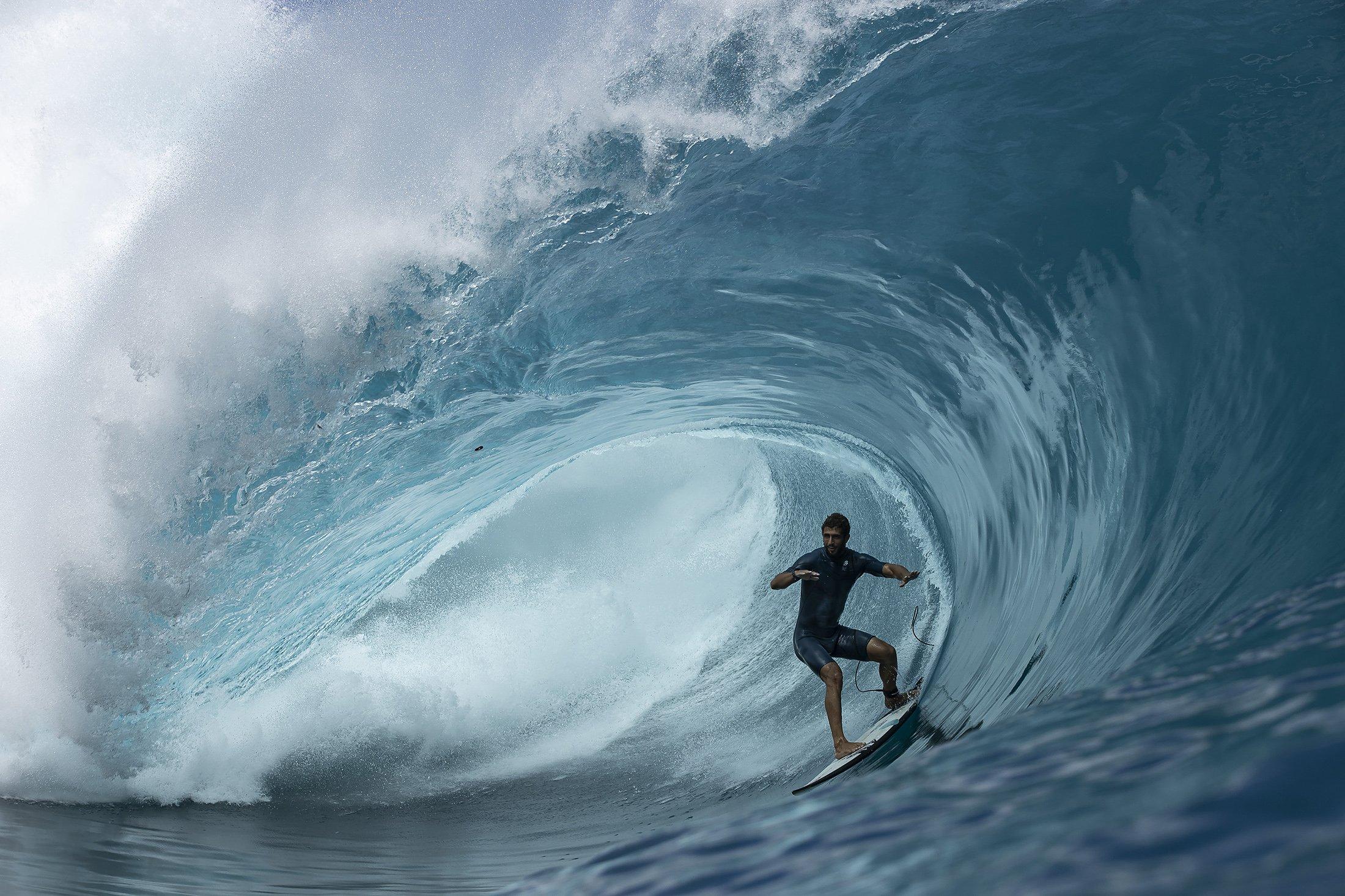el surf de olas grandes